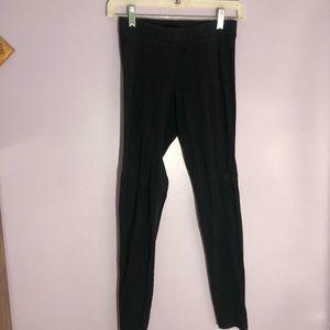 pink black leggings